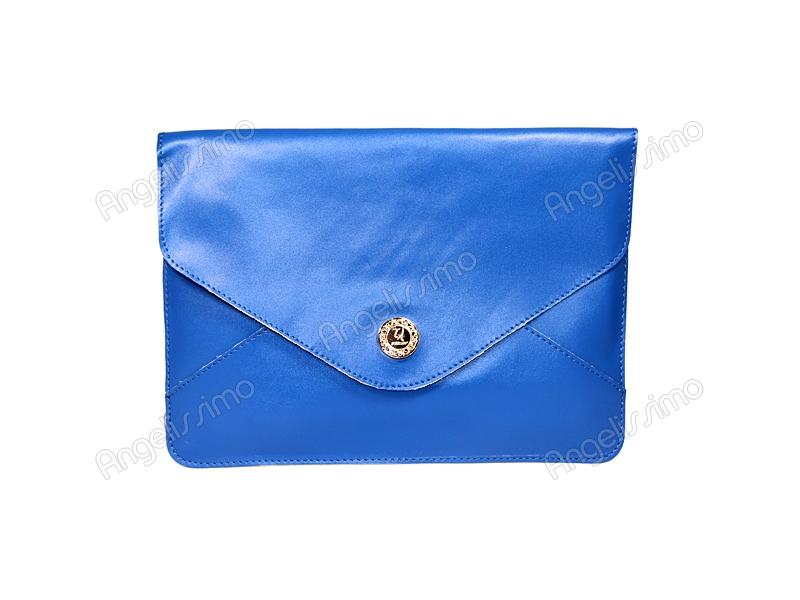 b4e2a60d21e3 Купить Клатч - конверт синий. BRimar: Кожа , синий. Кожаные клатчи ...