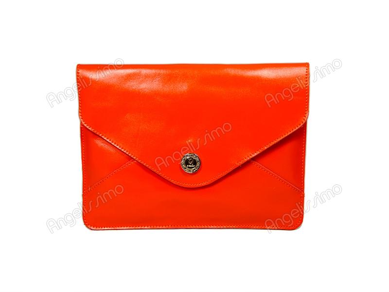 06f09c49f388 Купить Клатч - конверт оранжевый. BRimar: Кожа , оранжевый. Кожаные ...