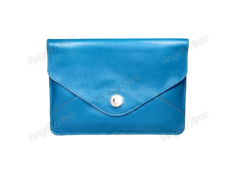 de3c58d5b0f0 Купить Клатч - конверт синий (бирюзовый). BRimar: Кожа , синий ...