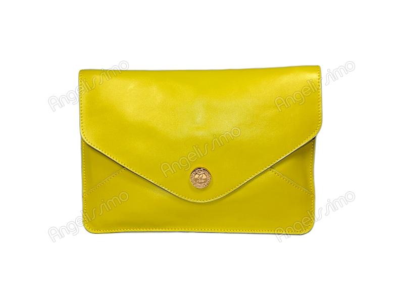 5498b65c0043 Купить Клатч - конверт цвета лайма. BRimar: Кожа , лайм. Кожаные ...